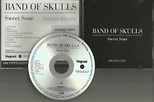 BAND OF SKULLS Sweet Sour DIFFERENT ARTWORK Rare ADVNCE PROMO DJ CD 2012 USA