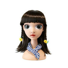 Free Shipping Makeup Cute Girl Mannequin Head Dolls with Watery Big Eyes