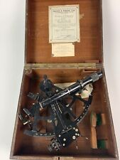 Vintage Sextant US Navy Mark II with original box; David White Co.