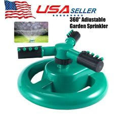 360° Rotating Lawn Sprinkler Automatic Water Sprinklers Lawn Irrigation System