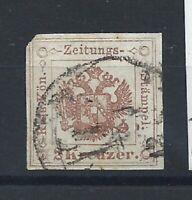 Autriche Timbre Taxe Pour Journaux N°3 Obl (FU) 1853/77 - Blason, Armoirie