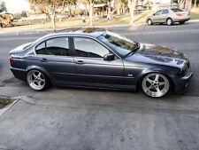 "18"" ESR SR04 Silver Wheels 18X8.5 +30 18X9.5 +35 5X120 Fit BMW 328i 325i Set 4"