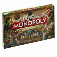 NEW! MONOPOLY COLLECTORS EDITION BOARD GAME - WORLD OF WARCRAFT MONOPOLY