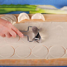 Stainless Steel Circle Dumpling Wrapper Dough Roller Useful Kitchen Tool Cutter