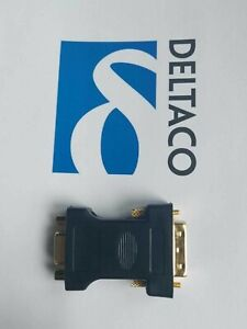 DVI-A Male to VGA Male Adapter - GOLD