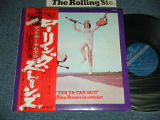 ROLLING STONES Japan 1976 LAX-1015 NM LP+Obi GET YER YA-YA'S OUT!