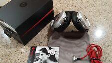 Beats by Dr Dre Pro Headbands Headphones Black - Silver color