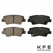 Premium Ceramic Disc Brake Pad REAR New Set Plus Shims Fits Hyundai KIA KFE1544