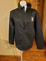 NWT $169 Mens Spyder Black Steller Full-Zip Jacket Sherpa Fleece Lined : Size S