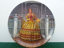 Melanie Raymond Kursar Gone With the Wind Series COA Knowles Collector Plate