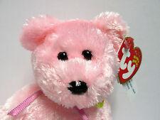 Ty Beanie Baby Sherbet Raspberry (PINK SHAG) Bear PRISTINE Brand New w/Mint Tags