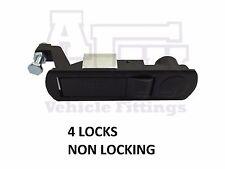 4 Compressione Chiavistello/Leva Di Blocco Per horsebox, rimorchi, Locker Porte, Tack BOX