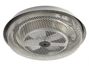BROAN 157 Low-Profile Fan-Forced Ceiling Heater, Enclosed Element for Bathroom