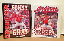 Shane Bieber Cleveland Indians + Sonny Gray Cincinnati Reds 2020 Bobblehead SGA