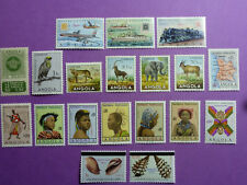 LOT 5360 TIMBRES / STAMP THEME POSTE AERIENNE + DIVERS ANGOLA ANNÉE 1950-1981