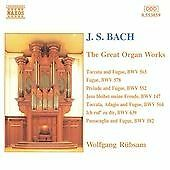 Johann Sebastian Bach - J.S. Bach: The Great Organ Works (CD 1996)