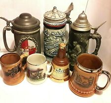 Ceramic Steins & other Drinking Vessels - click Select to view Individual items