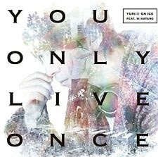 Yuri on ICE ED theme Song. New. You Only Live Once Japanese Version CD+DVD DHL/S