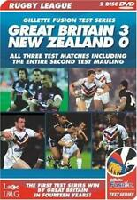 Gillette Fusion Test Series Great Britain 3 New Zealand 0 2007 Rugby League DVD