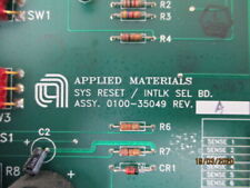 Amat 0100-35049 Assembly Pcb Sys Reset/ Intlk Sel Bd
