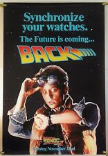 BACK TO THE  FUTURE PART II DS ROLLED ORIG 1SH MOVIE POSTER MICHAEL J. FOX 1989