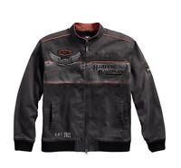 Harley-DavidsonMen's Iron Block Casual Jacke Gr. 3XL - Herren, grau