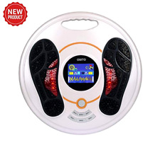 EMS Foot Circulation Device Electronic Relieve Pain & Aching of Feet Legs Ankles