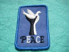 """Vintage Peace Dove Patch 2 """" X 3"""""""