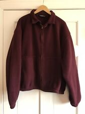 Vintage Polo Ralph Lauren Fleece Jacket Harrington Style Mens Size XXL