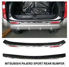 Tailgate Rear Bumper Guards Cover Trim Mitsubishi Montero Pajero Sport 2015-2017