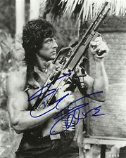 Sylvester Stallone (Rambo - John Rambo), Hand Signed 10 X 8 Photo.