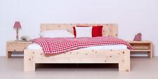 7418 Model Fanes 180 x 200 cm Bett Holzbett Zirbenholzbett Zirbenbett