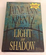 "NEW AUDIO BOOK ""LIGHT IN SHADOW"" ABRIDGED BY JAYNE ANN KRENTZ"