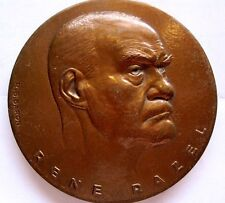 RENE RAZEL BY BARON / Big BRONZE MEDAL / 72 mm / N126