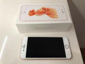 Apple iPhone 6s - 64GB - Rose Gold (Verizon) A1688 (CDMA + GSM) - No Reserve!