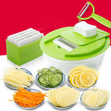 5 In1 Multifunctional Fruit Vegetable Cutter Slicer Kitchen Chopper Gadgets Tool