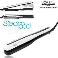 L'Oreal Steampod Steam Styler White 3.0 Piastra a Vapore per Capelli - Bianca/Nera