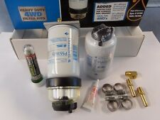 DONALDSON 3 MICRON 8MM POST FILTER WATER SEPARATOR KIT. INC FREE FUEL TREATMENT