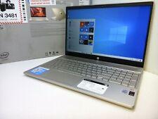 HP 15-cs3075wm intel Iris i7 Quad 10th Gen. 12GB - 512GB SSD + 32GB Optane Gold