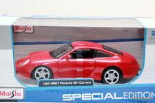 Porsche 911 996 carrera-rojo 1:24 maisto