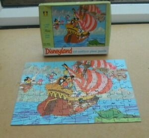 A TOWER PRESS DISNEYLAND - MICKEY AND HIS PIRATES - 100 PIECE PUZZLE