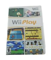 Wii Play Nintendo 2007 -Tested-Includes Manual-NO Remote-2 Player Video Game