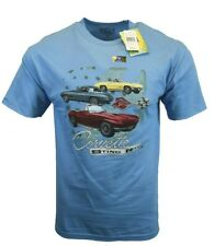 Chevrolet Men T Shirt Chevy Corvette American Muscle Classic Car Logo Racing NEW