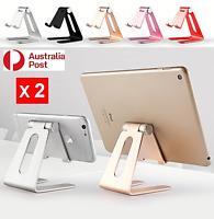X2 Desktop Holder Tablet Stand iPad Stand Phone Holder Rotation Aluminium iPhone