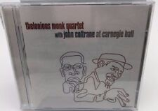 Thelonious Monk Quartet With John Coltrane At Carnegie Hall CD - New
