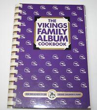 The VIKINGS FAMILY ALBUM COOKBOOK 1984 Good Condition