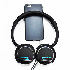 Stereo Wired Noise Cancelling Major Headphones Over Ear Deep Bass Stereo Remote