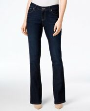 NEW Style & Co. Dark Wash Denim Curvy Fit Boot Cut Jeans Low Rise 12