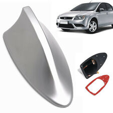 Sliver Universal Auto Car Roof Radio AM/FM Signal Shark Fin Style Aerial New