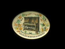 c1904 Gourlay, Winter & Leeming Piano Celluloid Pinback Button, Toronto, Canada